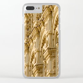 Building wall decoration Clear iPhone Case