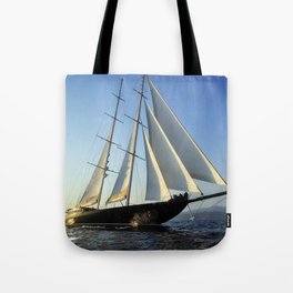 sailboat Tote Bag