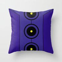 persona Throw Pillows featuring Persona 3 Elizabeth Dress by Bunny Frost