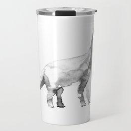 Diplodocus / bw. Travel Mug
