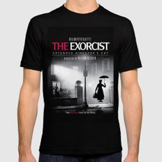 Mary Poppins in the Exorcist SMALL Black Mens Fitted Tee