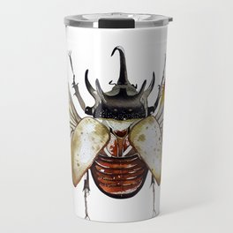 Gold Beetle Travel Mug