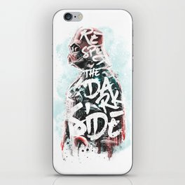 Respect the Dark Side Vader iPhone Skin