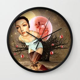 SEEDS OF DISCONTENT Wall Clock