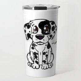 Doggie summer breeds NilseMariely, Diseños que Ladran Travel Mug