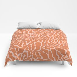 Abundance | Orange & Pink Comforters