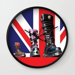 Boots Wall Clock