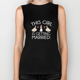 This Girl Is Getting Married Biker Tank