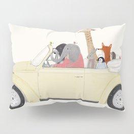 road trip huit Pillow Sham