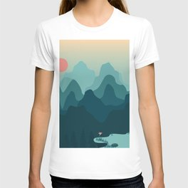 Forest and Mountian T-shirt