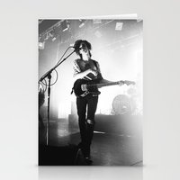 matty healy Stationery Cards featuring Matty Healy by 1999 Clothing Company