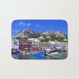The Beach in Capri, Italy Bath Mat