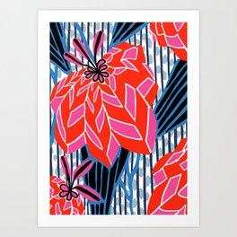 BAYAMO: OLENCIA BRIGHTS, Deco Tropical Art Print