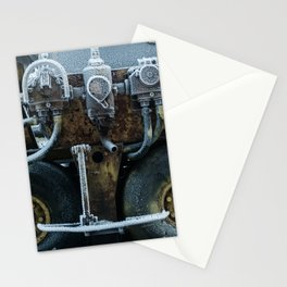 Frozen tires Stationery Cards