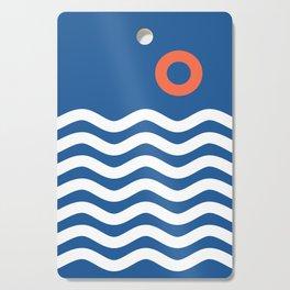 Nautical 03 Seascape Cutting Board