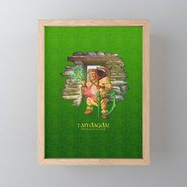 Dagda Framed Mini Art Print