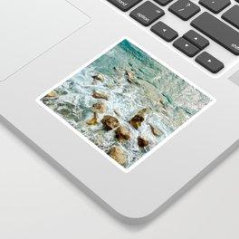Sunday Sea Splash Sticker