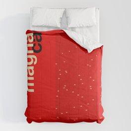 Helvetica Magna Carta Comforters