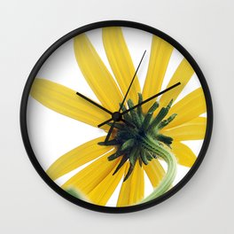 The Other Side of a Black-eyed Susan Wall Clock