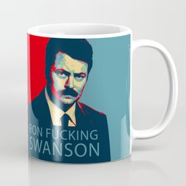 Ron F***ing Swanson Coffee Mug