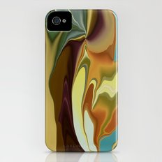 Abstract With Mood iPhone (4, 4s) Slim Case