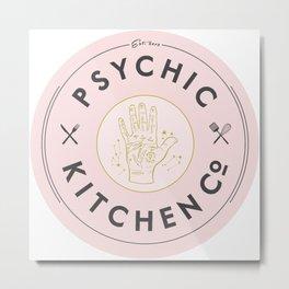 Psychic Kitchen Metal Print