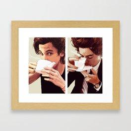 """boyfriends"" Framed Art Print"