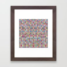 it all adds up Framed Art Print