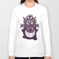 gengar Long Sleeve T-shirts featuring Nightmare by Jinny Hinkle