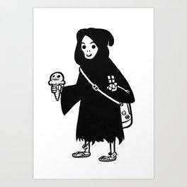 Chill Reaper Art Print