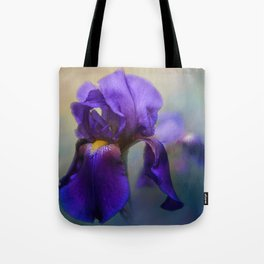 The First Iris Tote Bag