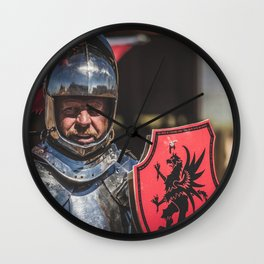 Knight of the Gryphon Wall Clock