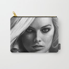 Margot Robbie Pencil Sketch Carry-All Pouch