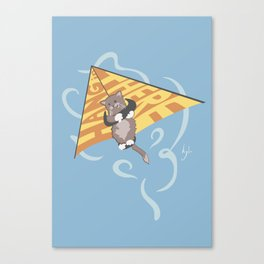 Hang (glide) in There Canvas Print