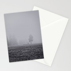 Tree in the Fog  Stationery Cards