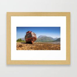 Taller Than Ben Nevis Framed Art Print