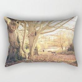 Hampstead Heath Wanderings Rectangular Pillow