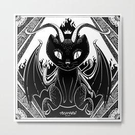 Baphocat Metal Print