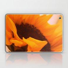 SunflowerPower ~ retro sunny orange flower Laptop & iPad Skin