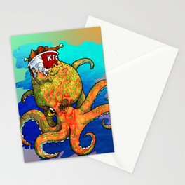 The Octopus and the Chicken Stationery Cards
