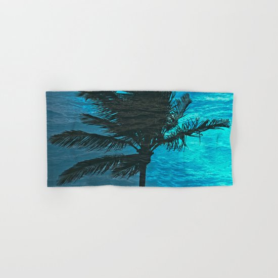 Swimming Palm Hand & Bath Towel