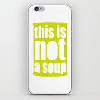 magritte iPhone & iPod Skins featuring Warhol Magritte   by alphaville