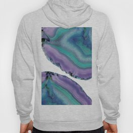 Agate Boho Chic #5 #gem #decor #art #society6 Hoody