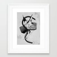 college Framed Art Prints featuring Offspring College by Andrej Balaz