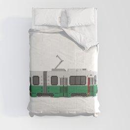 Boston Green Line Train Comforters