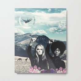 Gloria & Dorothy Metal Print