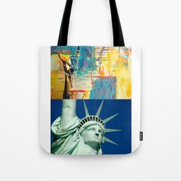 KEEP on ROCKIN - Statue of Liberty Style Tote Bag