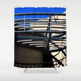 E V - Metal On Metal Shower Curtain