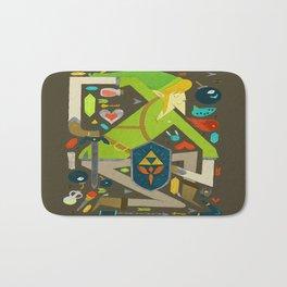 Zelda Art Design Bath Mat