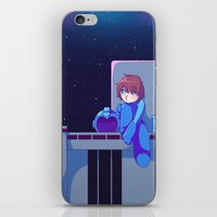 megaman iPhone & iPod Skins featuring Megaman II  by Thais Magnta Canha